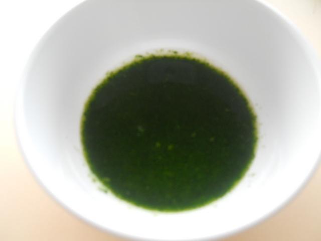 離乳食 青菜のペースト(5・6か月頃)