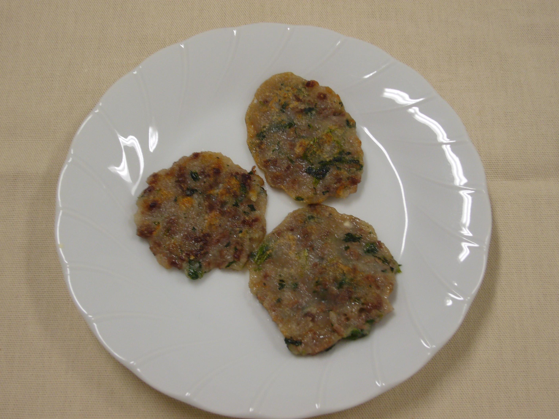 牛肉とほうれんそうのチヂミ(12か月から18か月頃)
