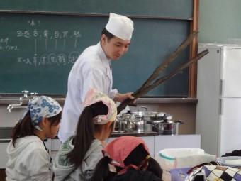 日本料理に学ぶ食育授業