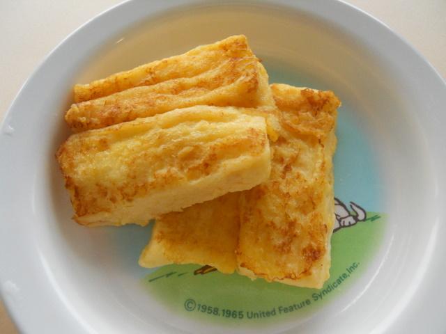 離乳食 フレンチトースト (9か月から11か月頃)
