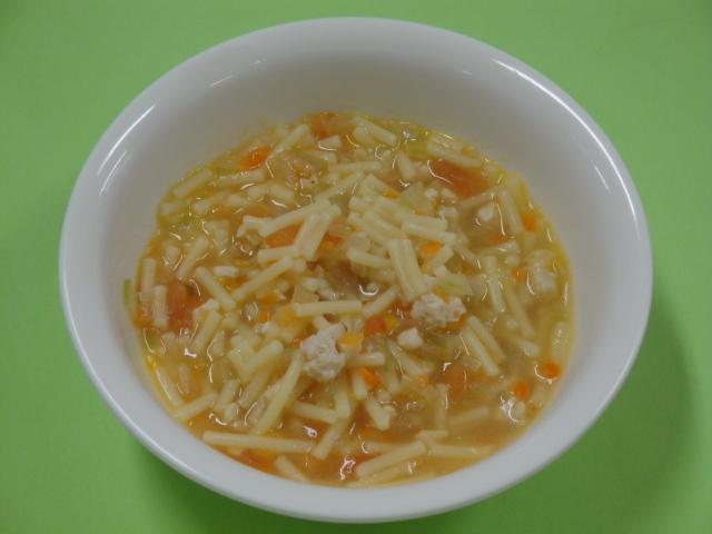 スープスパゲッティ(9か月から11か月頃)