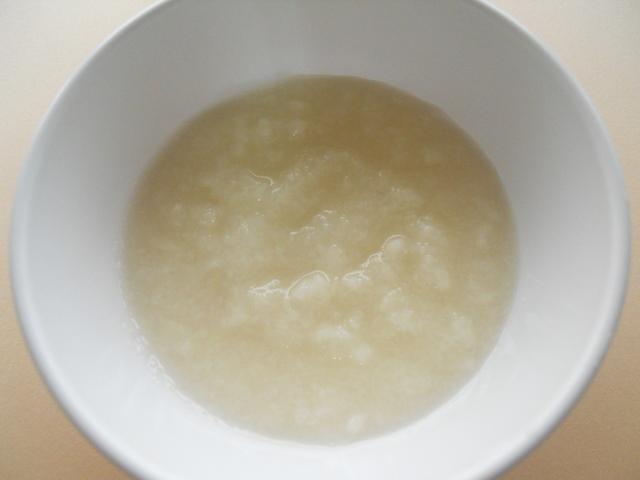 離乳食 うどんがゆ(5・6か月頃)