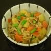 025-019豚肉と野菜のみそ煮