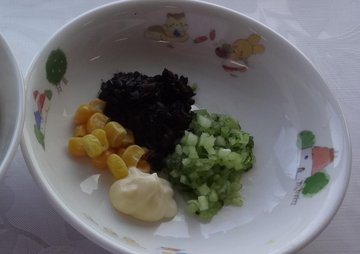 離乳食 ひじきキューマヨ(12か月から18か月頃)