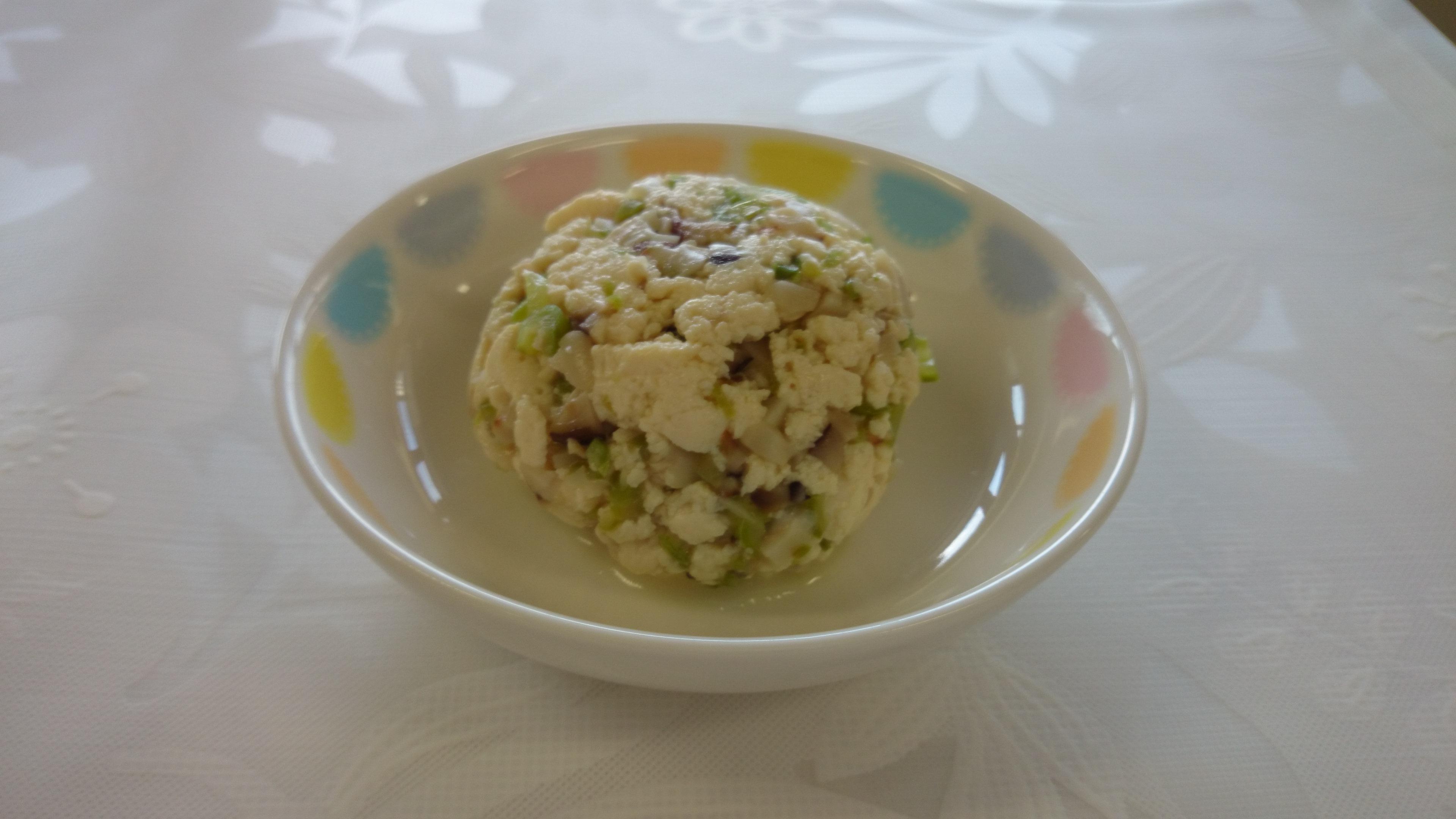 離乳食 炒り豆腐(9か月から11か月頃のメニュー)