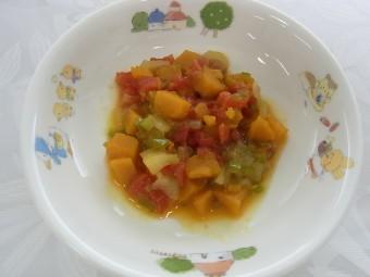 離乳食 ラタトゥイユ(夏野菜の煮物)(9か月から11か月頃)