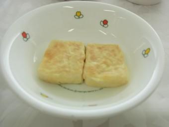 離乳食 豆腐のピカタ(9か月から11か月頃)