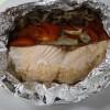 DSC00024鮭とトマトとしめじのホイル焼き