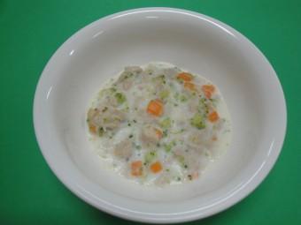 離乳食 魚のホワイトソース煮 (7・8か月頃)