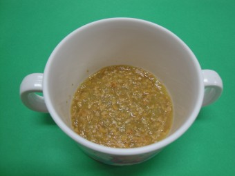 離乳食 納豆汁 (7・8か月頃)