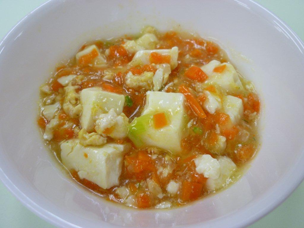 離乳食 マーボー豆腐  (7・8か月頃)