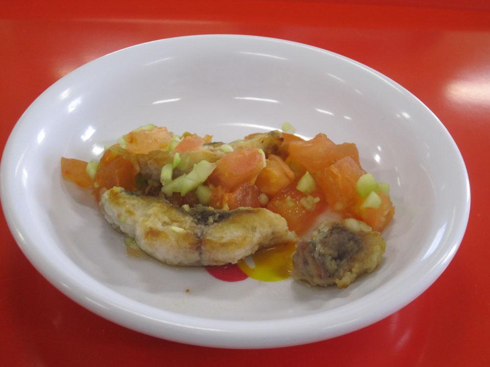 離乳食 魚のマリネ (9か月から11か月頃)