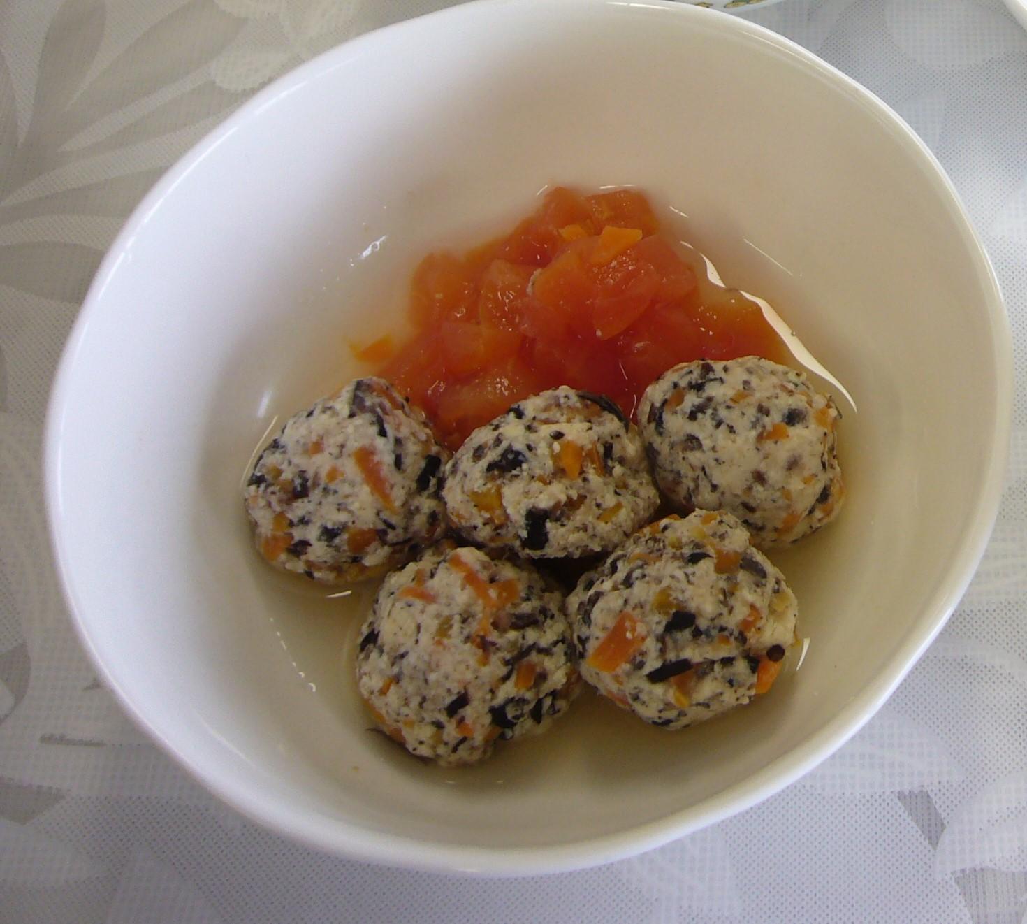 肉団子のトマト煮(9か月から11か月頃)