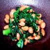 18-005春菊と納豆のピリ辛和え